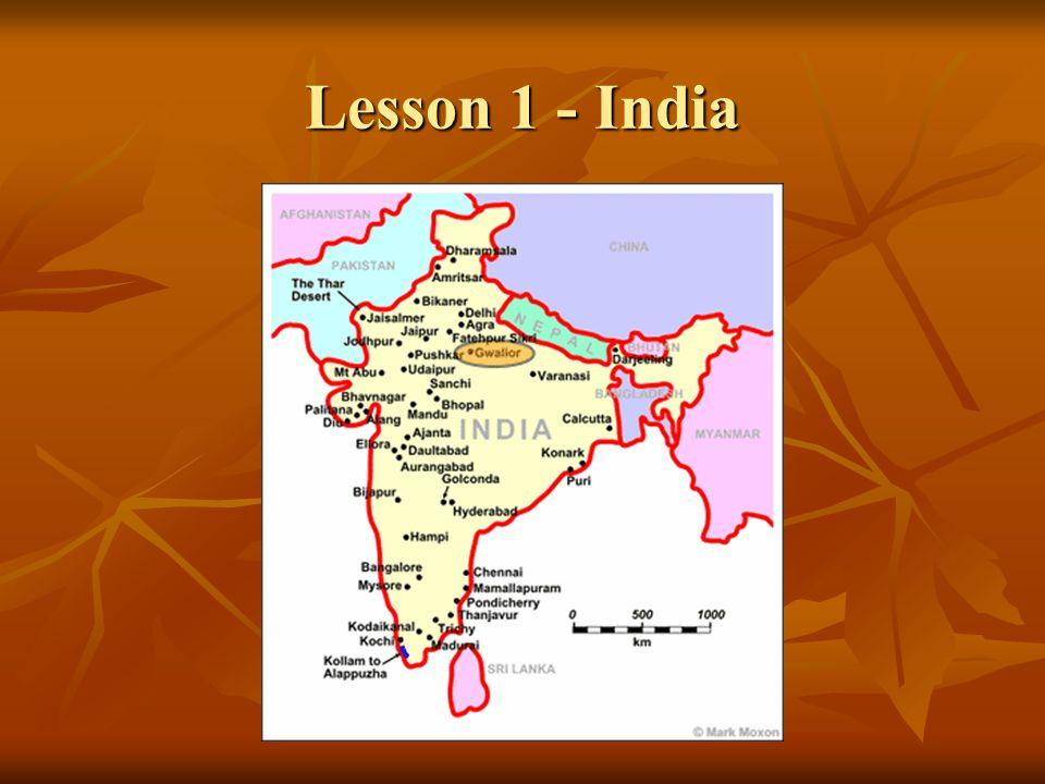 Lesson 1 - India