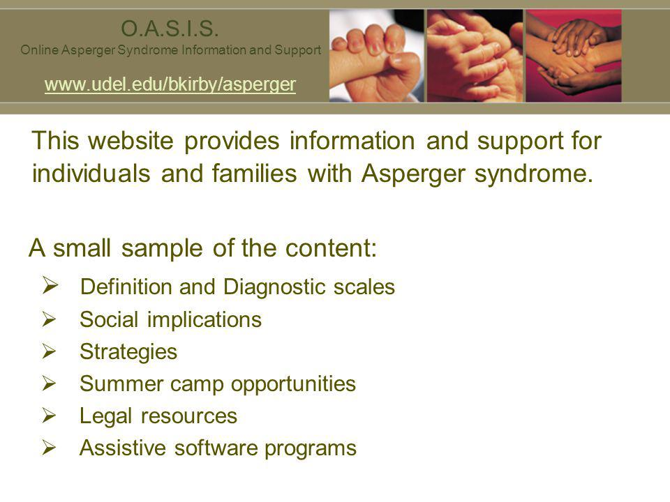 Online Asperger Syndrome Information and Support