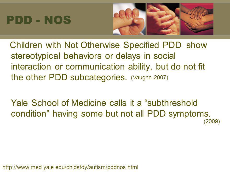PDD - NOS