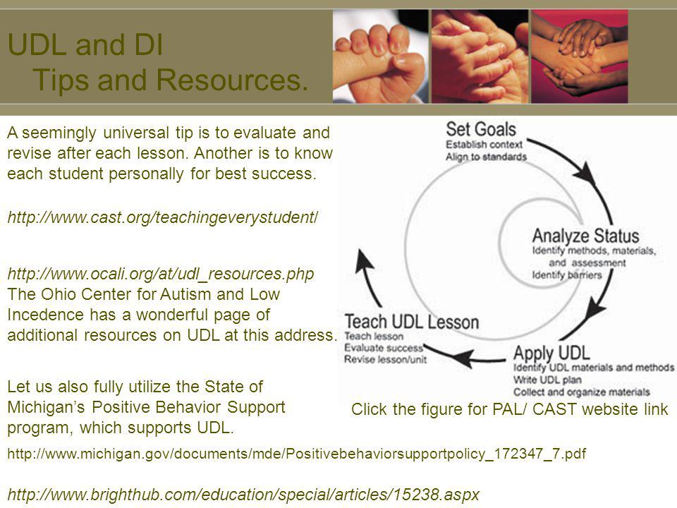 UDL and DI Tips and Resources.