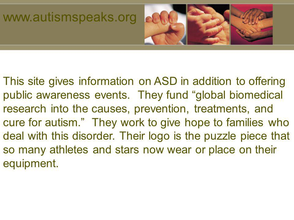 www.autismspeaks.org