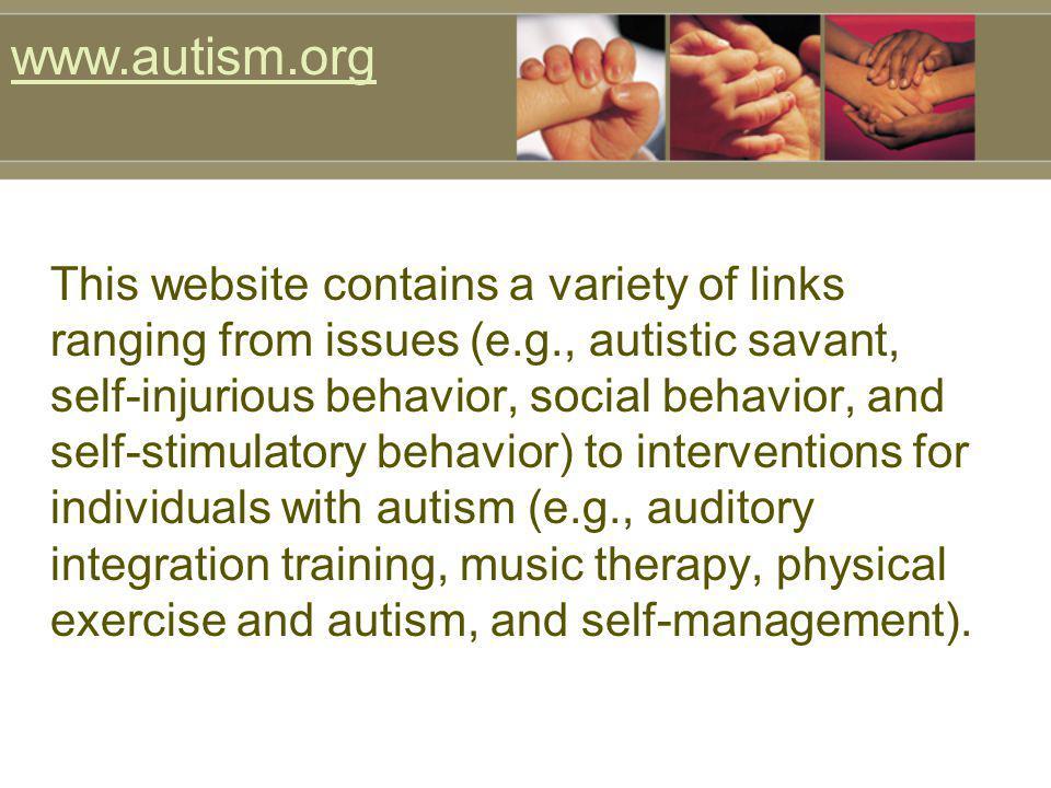 www.autism.org