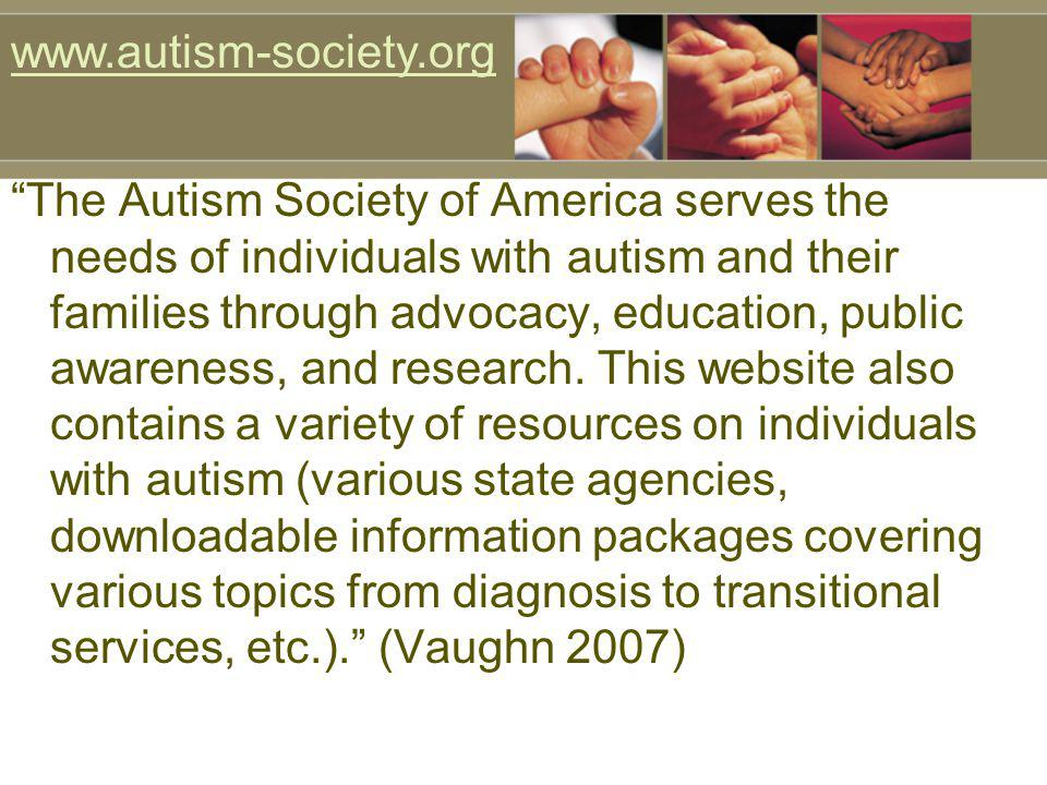 www.autism-society.org
