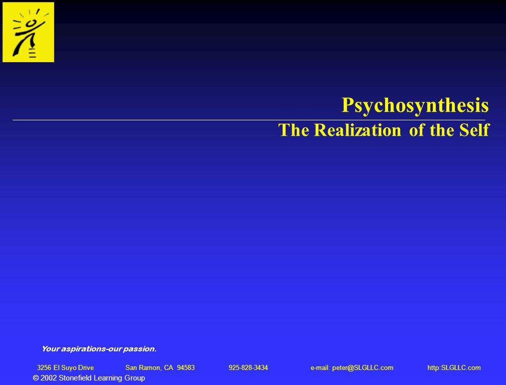 Psychosynthesis the