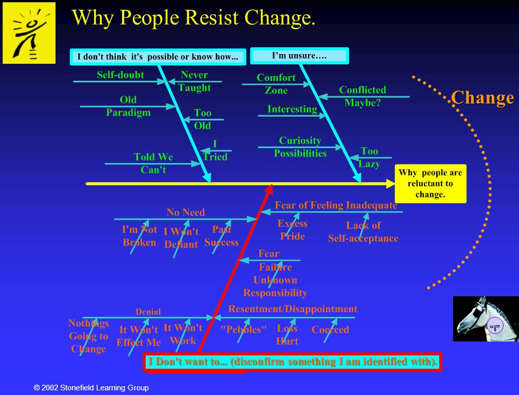 Why People Resist Change.