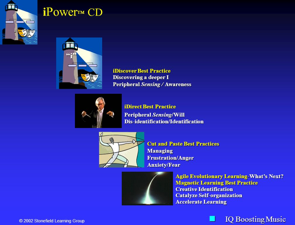 iPower™ CD i IQ Boosting Music iDiscover Best Practice