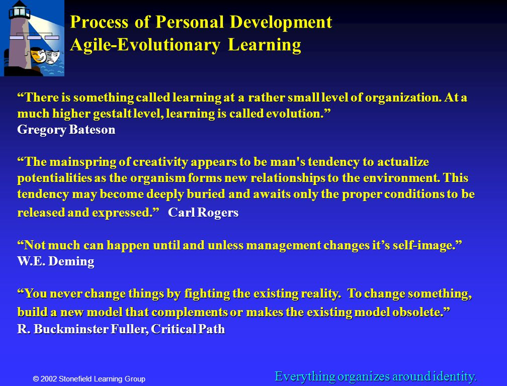 Process of Personal Development Agile-Evolutionary Learning