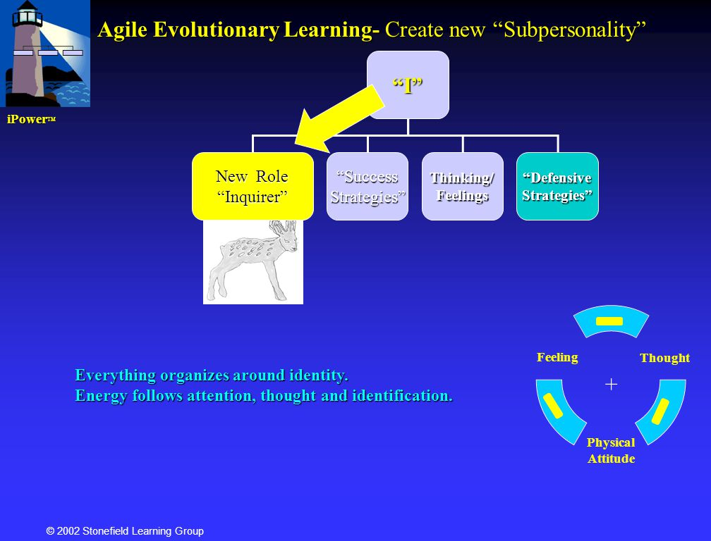 Agile Evolutionary Learning- Create new Subpersonality