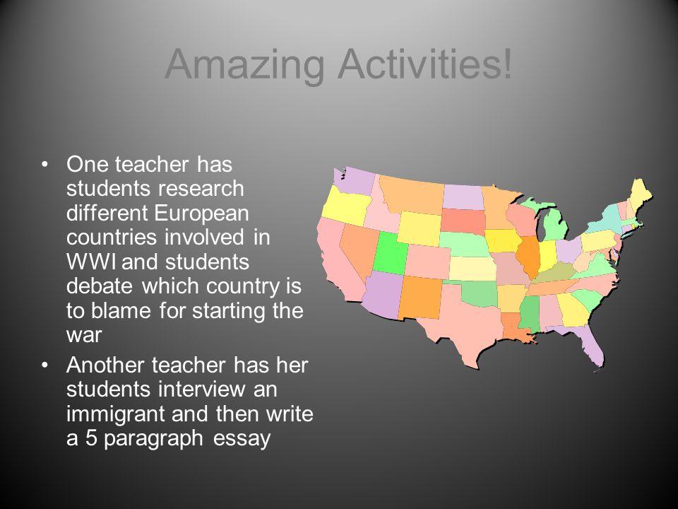 Amazing Activities!