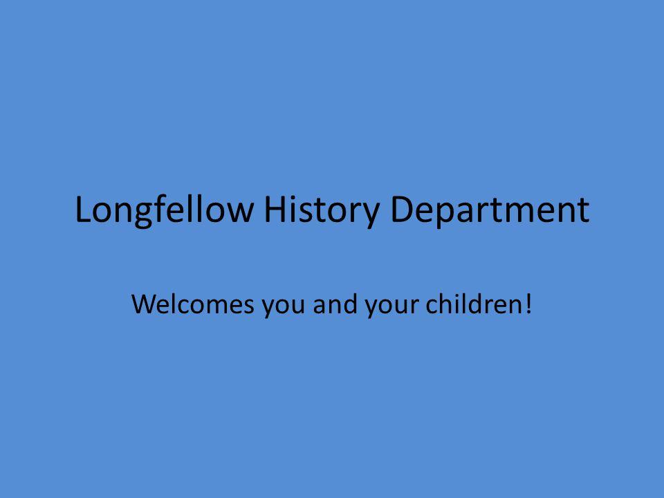 Longfellow History Department