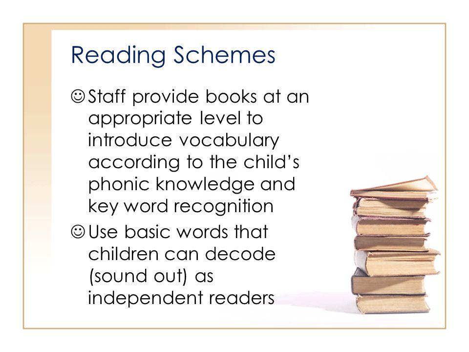 Reading Schemes