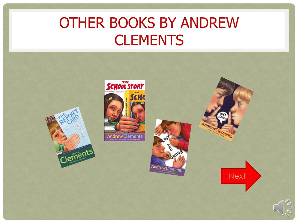Other books by Andrew Clements