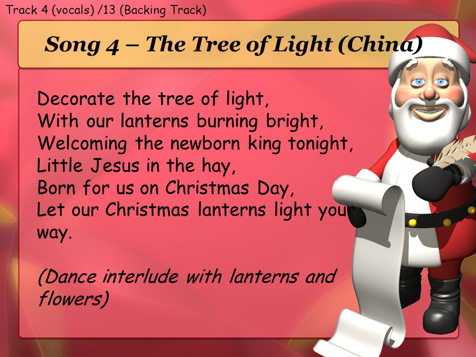 Song 4 – The Tree of Light (China)