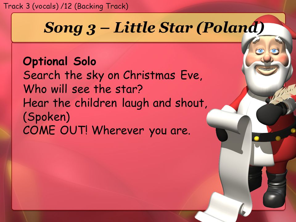 Song 3 – Little Star (Poland)