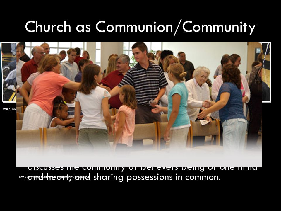Church as Communion/Community