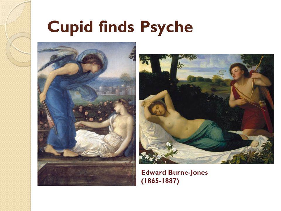 Cupid finds Psyche Edward Burne-Jones (1865-1887)