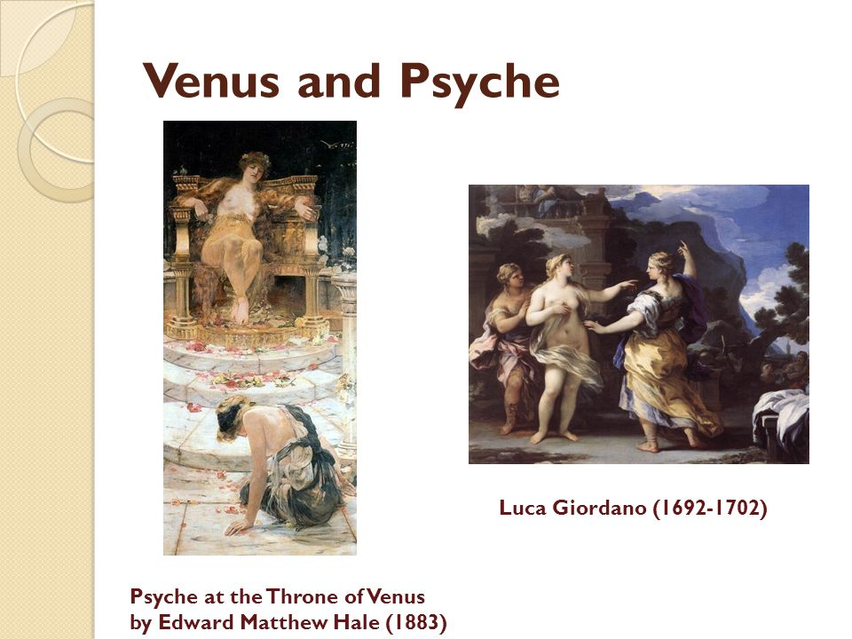 Venus and Psyche Luca Giordano (1692-1702)