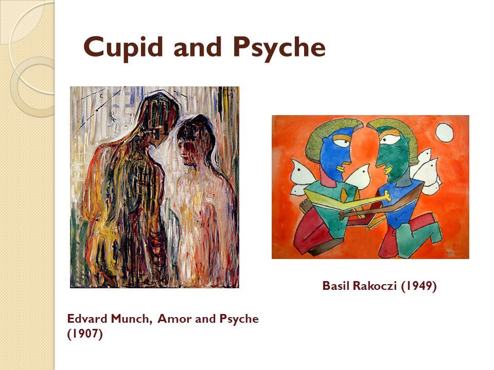Cupid and Psyche Basil Rakoczi (1949) Edvard Munch, Amor and Psyche