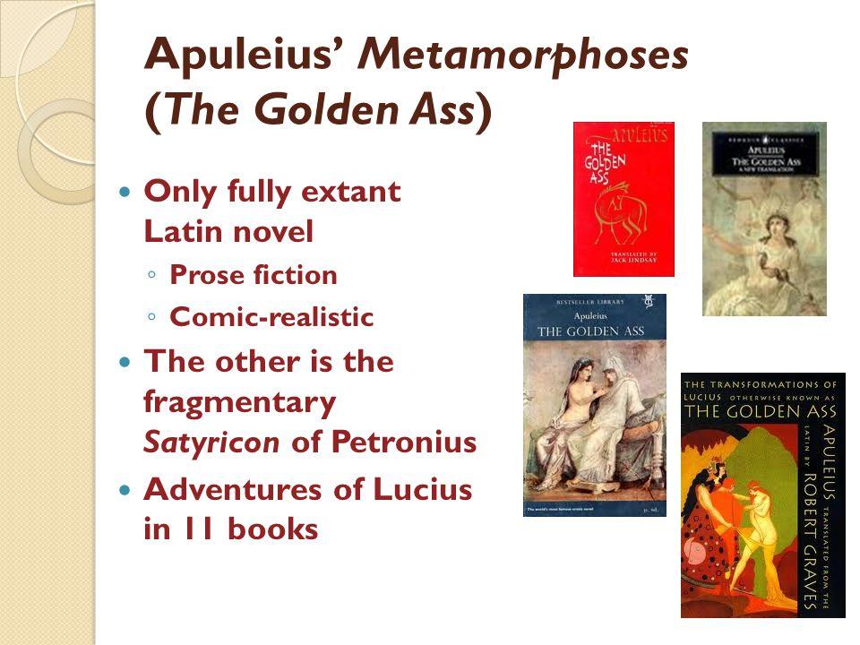 Apuleius' Metamorphoses (The Golden Ass)