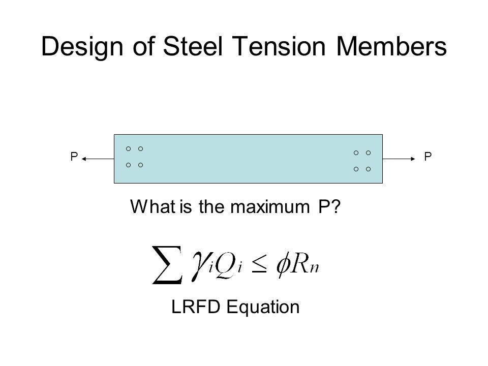 10-design of tension member with bolted connection (steel structural ….