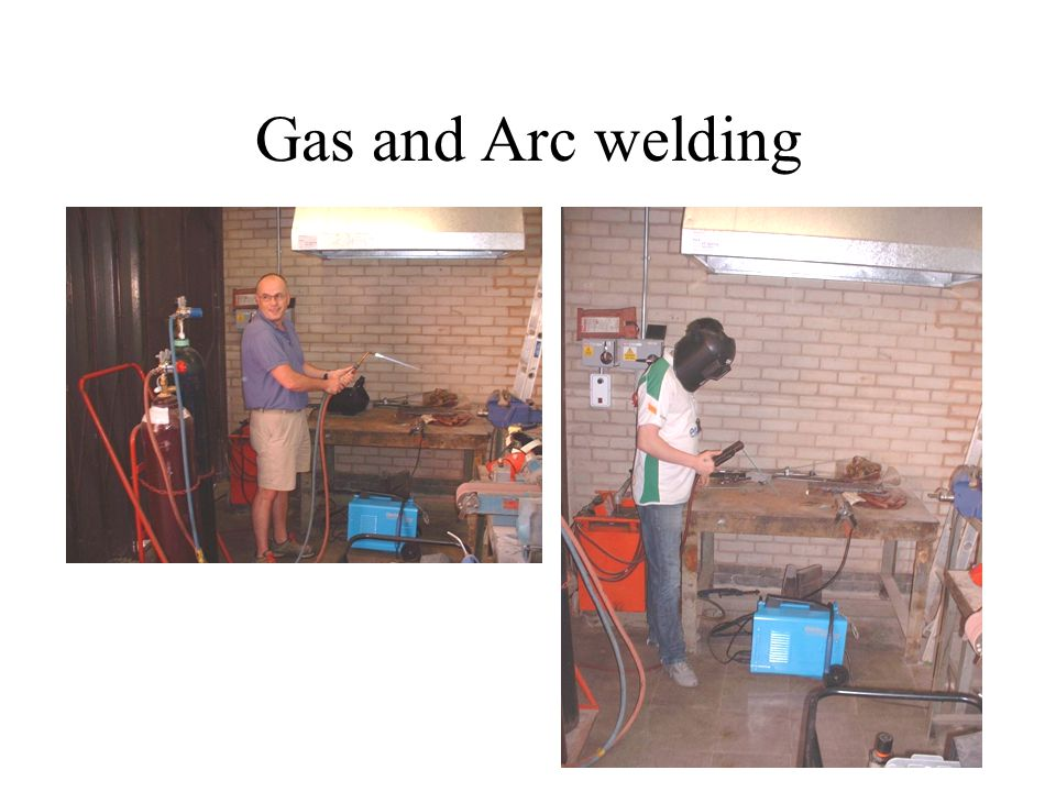 Gas and Arc welding