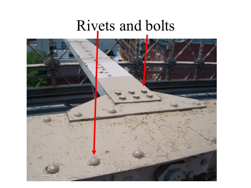 Rivets and bolts