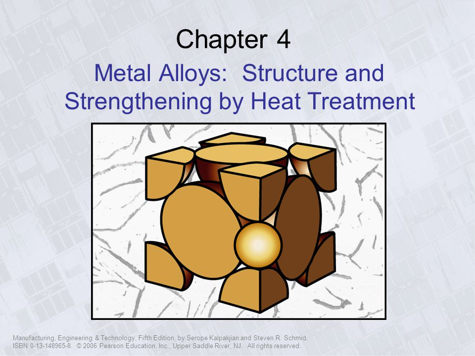 Metal Alloys: Structure and Strengthening by Heat Treatment