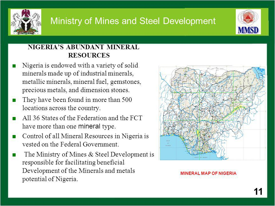 World Class Minerals for Immediate Development