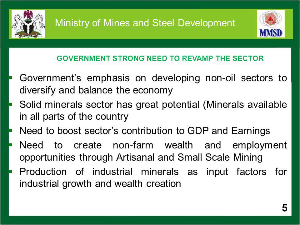 6 Moving towards Investor-Led Mining Sector Growth: