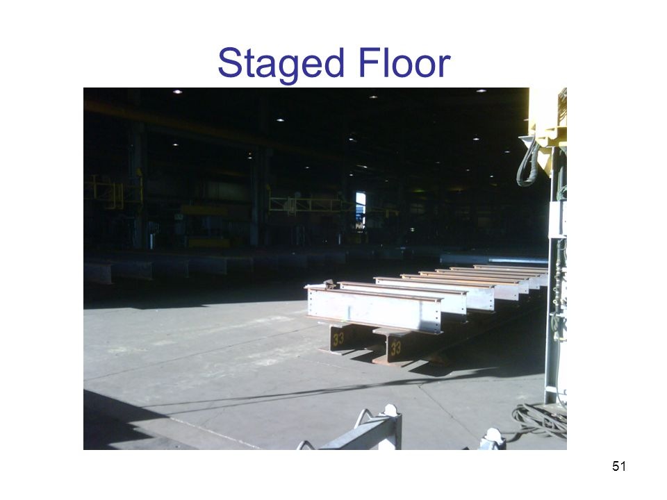 Staged Floor