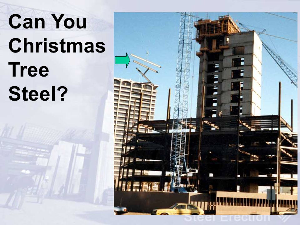 Can You Christmas Tree Steel