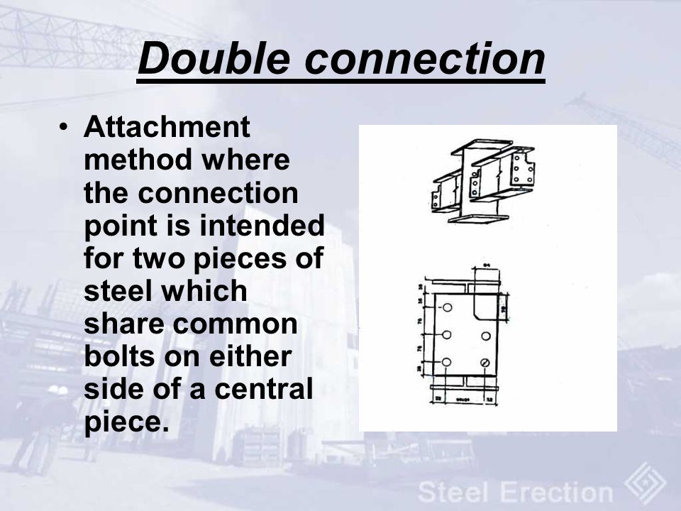Double connection