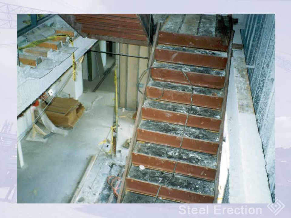 Installation of steel stairways are covered by subpart R