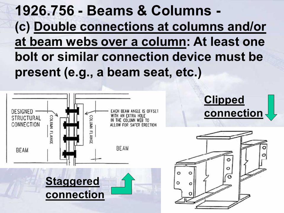 1926.756 - Beams & Columns -