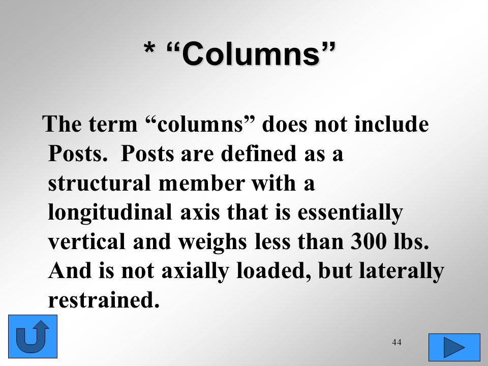 * Columns
