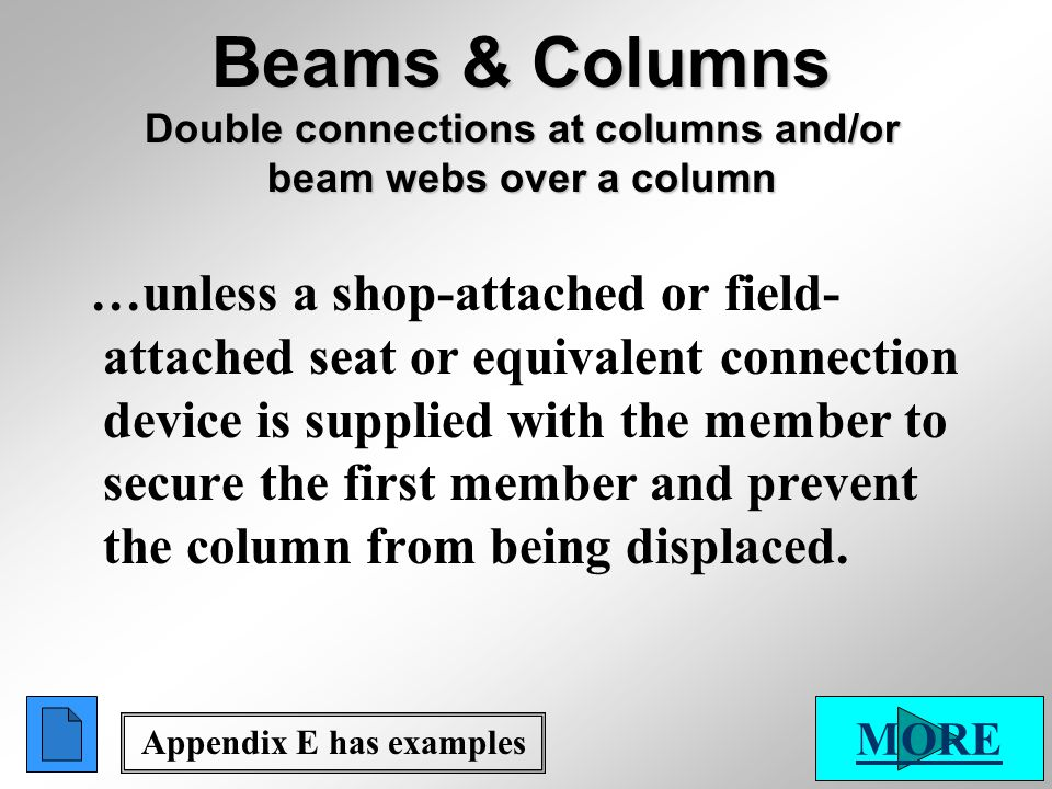 Appendix E has examples