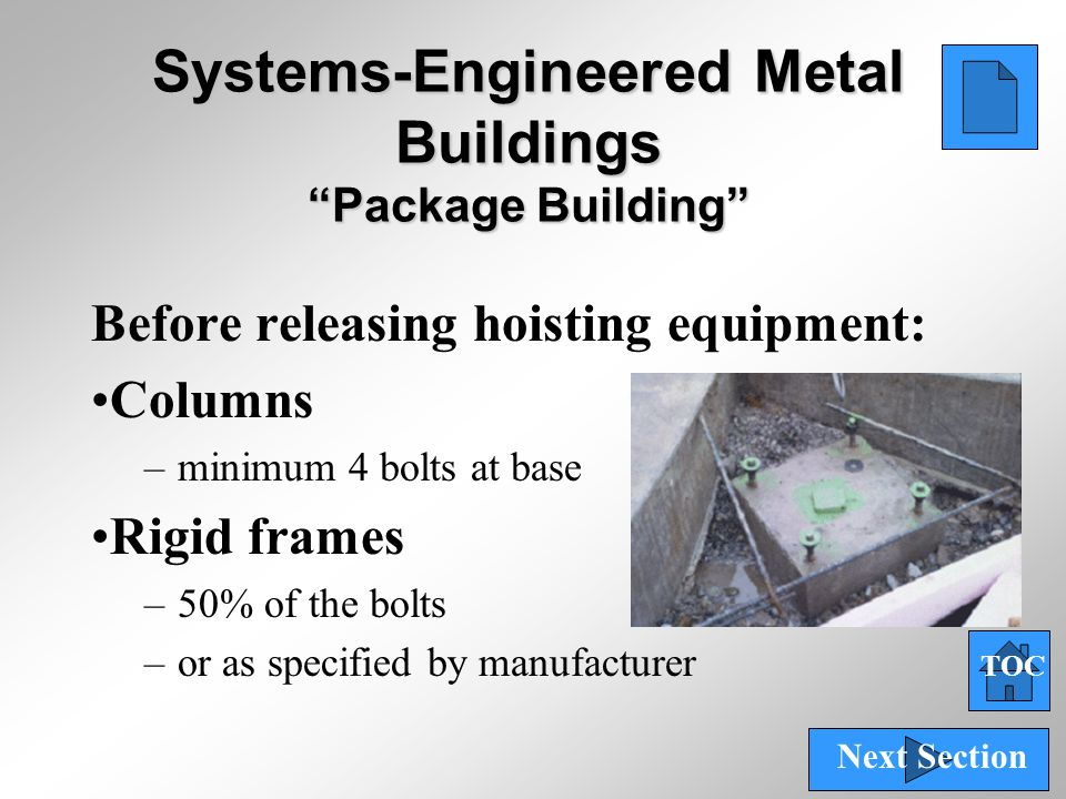 Systems-Engineered Metal Buildings Package Building