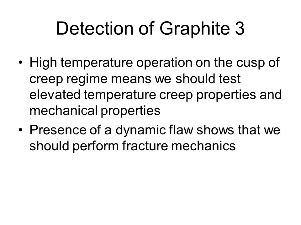 Detection of Graphite 3
