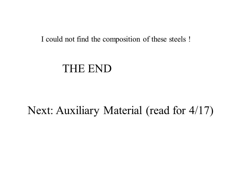 Next: Auxiliary Material (read for 4/17)