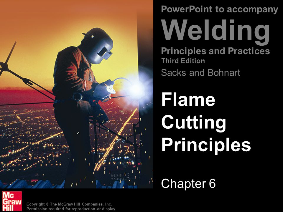 Flame Cutting Principles