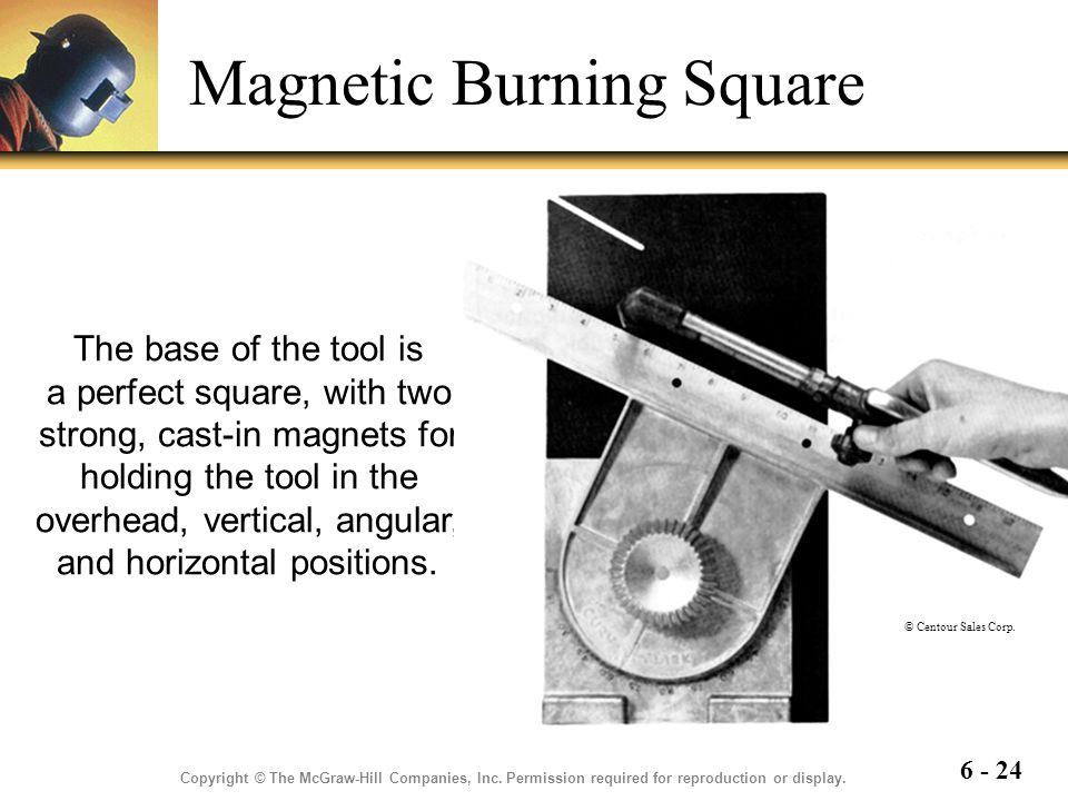 Magnetic Burning Square