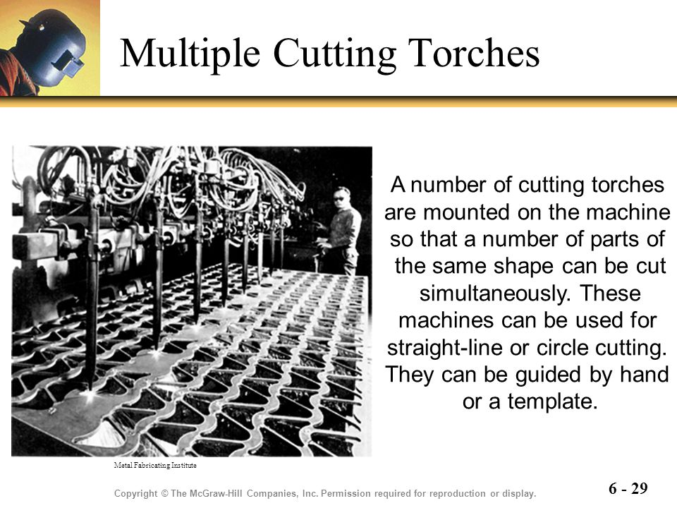Multiple Cutting Torches