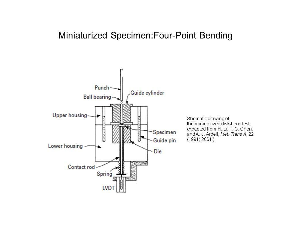 Miniaturized Specimen:Four-Point Bending