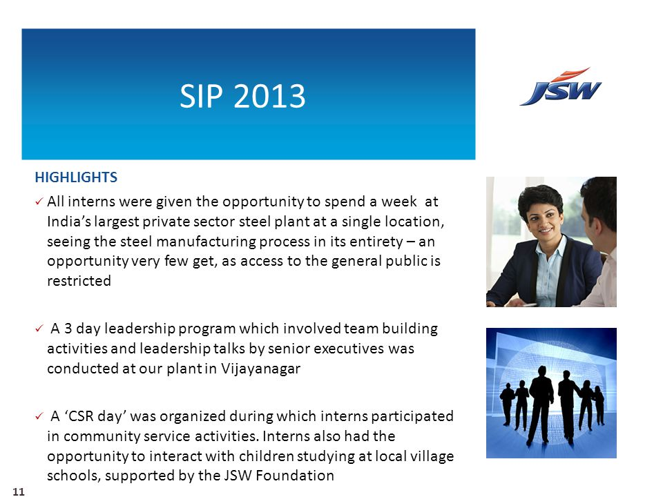 SIP 2013 HIGHLIGHTS.