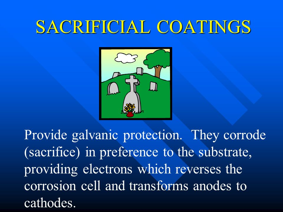4/1/2017 SACRIFICIAL COATINGS.