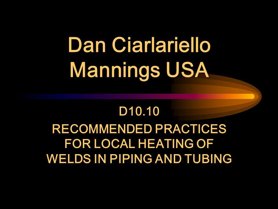 Dan Ciarlariello Mannings USA