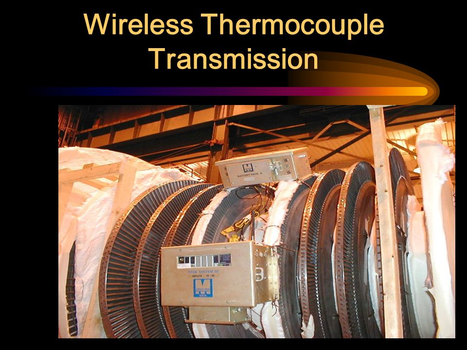 Wireless Thermocouple Transmission