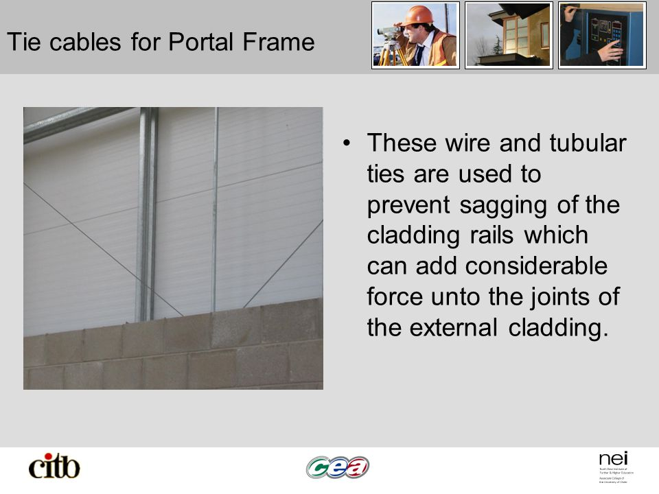 portal frame lab Portal frame analysis using excel introduction the strength checks for any structure are valid only if the analysis gives a good representation of the behavior of the actual structure.
