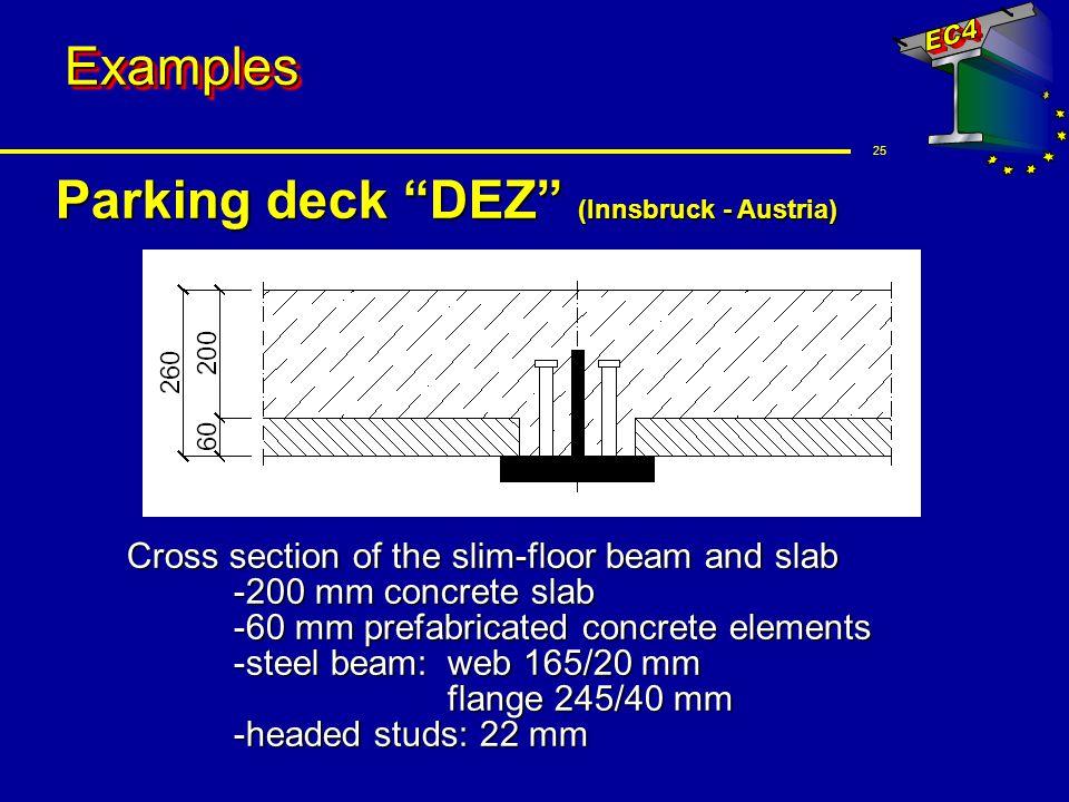 Parking deck DEZ (Innsbruck - Austria)