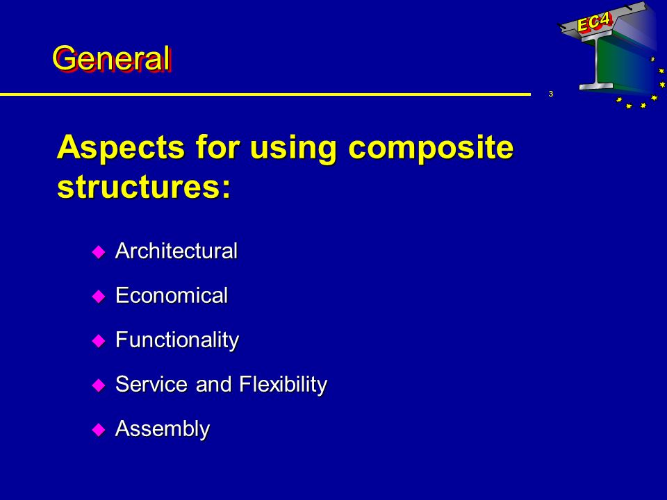 Aspects for using composite structures:
